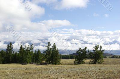 Mountain Altai, endless elbowrooms