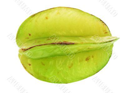 Averrhoa carambola. Exotic fruit.