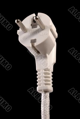 Electrical two pin plug