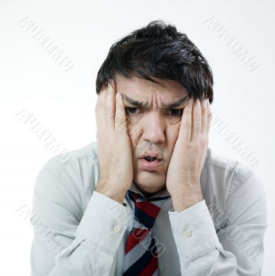 Desperated man