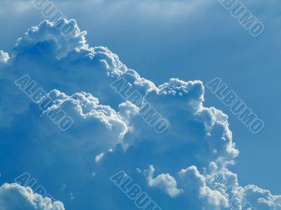 Overcast sky background