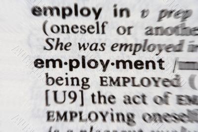 Employment word