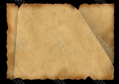 Background - a piece of old parchment