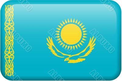 Kazakhstan Flag Button