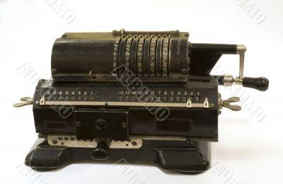 account typewriter