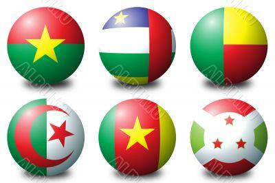 Africa balls 1