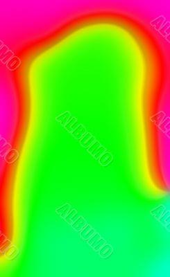 Lava lamp wax abstract