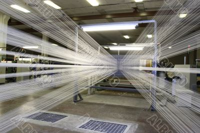 Manufacture of threads