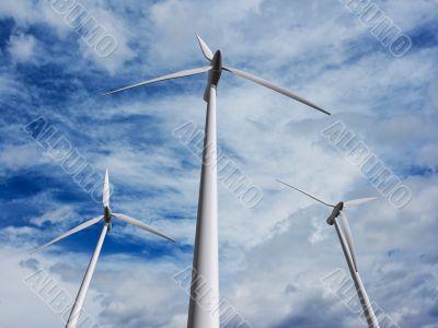 Wind turbines farm 2