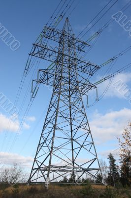 Electricity supply pylon