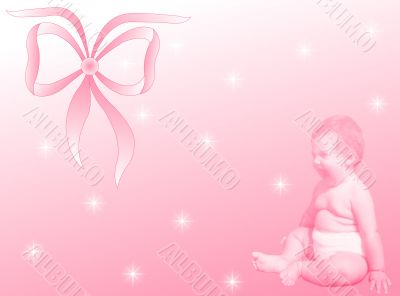 Female baby birth