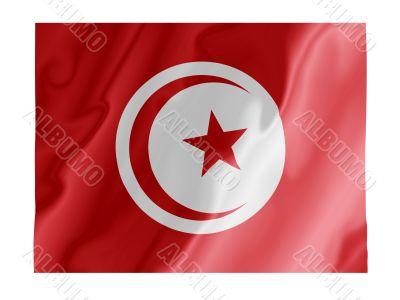 Tunisia fluttering
