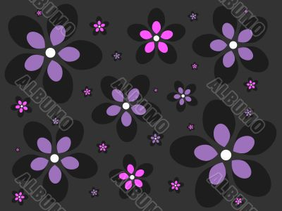 Emo Flower Background