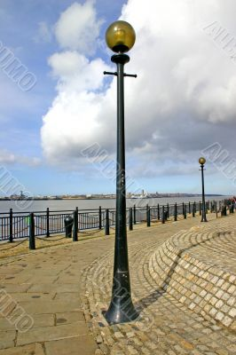 Lamp Post on the Waterfront