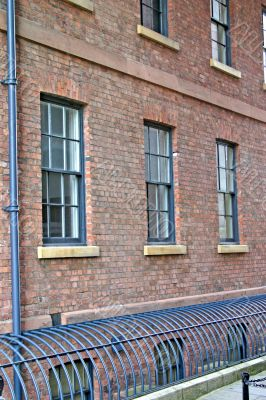 Warehouse Windows and Iron Grille