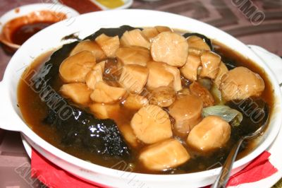 Chinese Scallop Stew