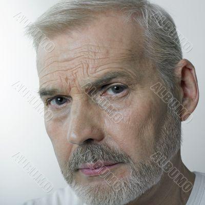 Portrait of a matured man