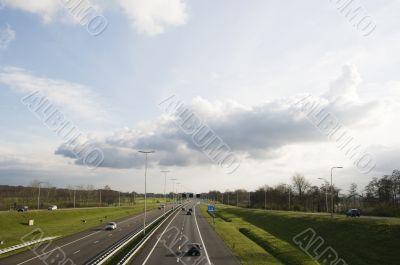 Highway in Holland