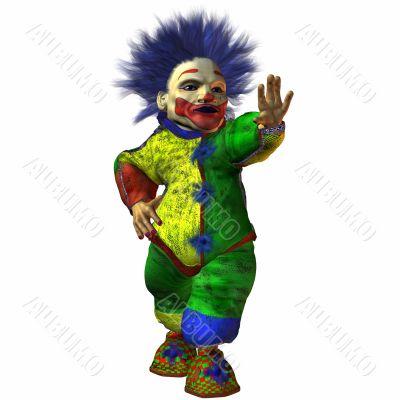 Eddy the Clown