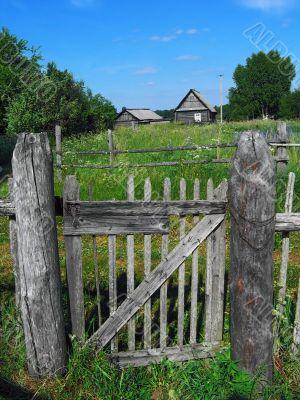 Village fence door