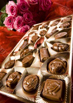 Chocolate & Roses