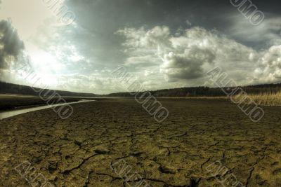 Dry bog