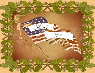 Greeting Card-Veteran`s Day