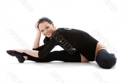 fitness black leotard 4