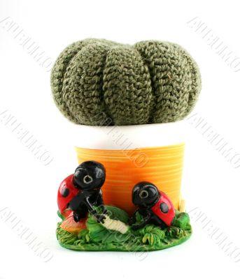 Knited cactus