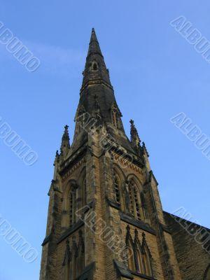 English Sandstone Church