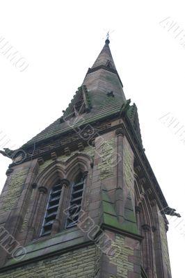 Sandston Church Spire in Devon