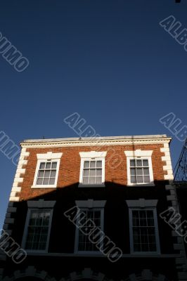 Historic Building in Shadow in Chester