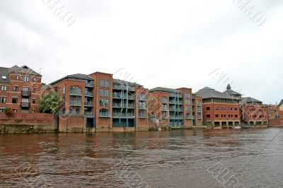 Modern Apartments on the River Ouse in York