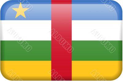 Central African Republic Flag Button
