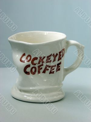 Ceramic figured mug