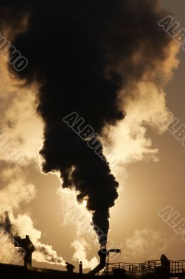 global warming - gaseous air pollution