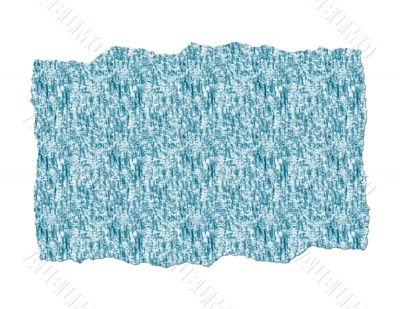 Ripped Paper Textured and Blue