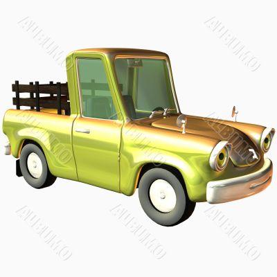 Toon Car Pickup