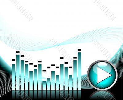 vector illustration for musical theme