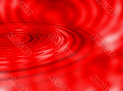 Red ripple background