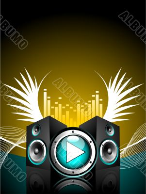 vector illustration for musical theme