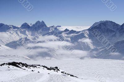 Caucasus Mountains. Russia