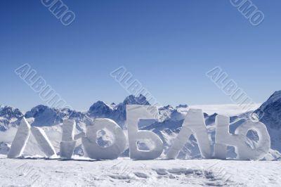 Russia. Elbrus.  Love
