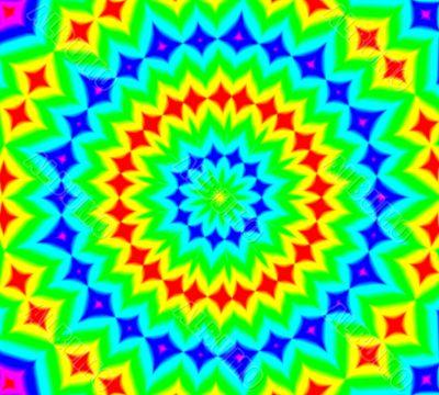 Hippy kaleidoscope