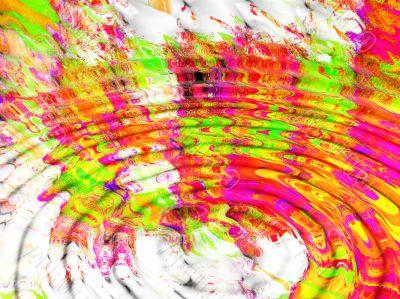 rippled scrapbook background