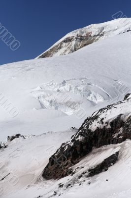 Elbrus. Snowboarding