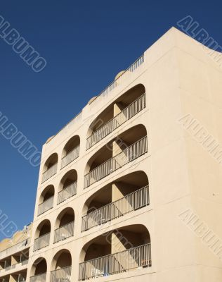 french riviera residential building