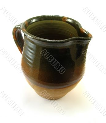 jug on a white background