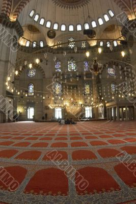 Blue Mosque interior