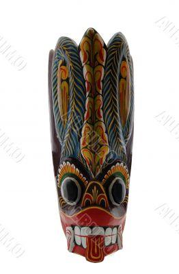 ritual tribal mask
